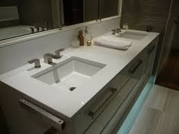 Best Engineered Quartz Bathrooms Images On Pinterest - Quartz bathroom countertops with sinks
