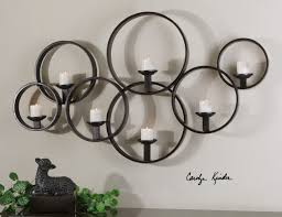 Votive Wall Sconce Uttermost Kadoka Candle Wall Sconce Contemporary Circles For