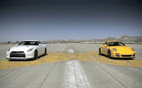 nissan gtr drag car feature flick watch a nissan gt r drag race a porsche 911 turbo s