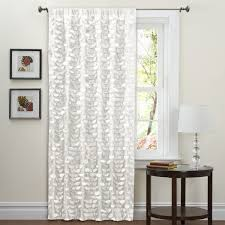 42 Inch Shower Curtain Lush Decor White 84 Inch Lilian Curtain Panel Free Shipping On