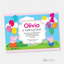 how to create peppa pig birthday invitations templates egreeting