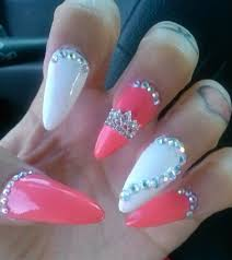 best 25 pink stiletto nails ideas on pinterest stiletto nails