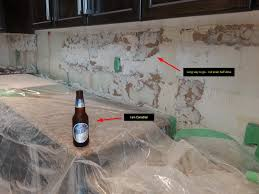 home design ideas how to remove a kitchen tile backsplash before