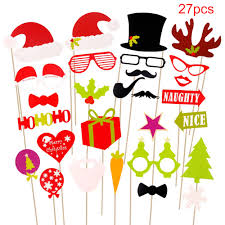 New Years Decorations Clipart by Aliexpress Com Buy Fengrise Photo Booth Props Christmas