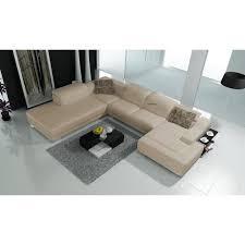 canap taupe canapé taupe clair d angle avec lit en cuir 6 personnes achat