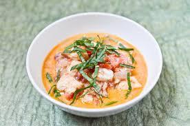 curry de poisson facile tomates et lait de coco recette