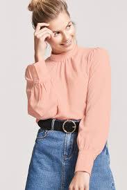 keyhole blouse crinkled keyhole blouse forever 21 2000256981