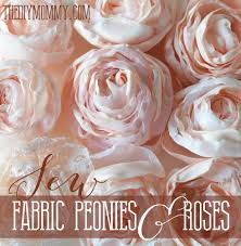 diy how to make fabric flowers this post has a free tutorial