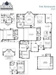 New Homes Floor Plans by The Rosemary Ii Bryson Manor New Home Floor Plan Ovilla Texas