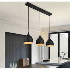 3 Light Pendants Impressive Modern Linear Multi Light Pendant With Black Teardrop