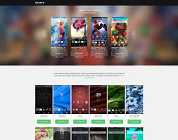 theme creator z2 sony releases new theme portal for xperia devices