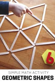 Math Decorations For Classroom Geometric Shapes Activity Math And Stem Ideas For Kids