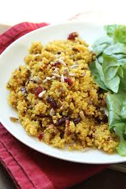 quinoa thanksgiving stuffing delicious as it looks curried cranberry quinoa side dish