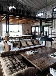 cuisine style loft industriel mille et une idées pour le salon style industriel en 44 photos
