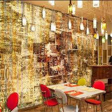 beibehang wallpapers 3 d restaurant retro nostalgic big wall