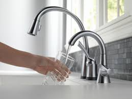 Automatic Kitchen Faucet Delta Touch Faucet Sinks And Faucets Decoration