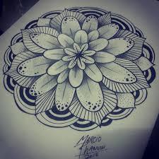 imagenes whatsapp mandalas mandala mandalas drawntattoo drawn desenhotattoo rhanuii flickr