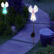 Colour Changing Solar Garden Lights - solar garden lights color changing magic mushrooms solarduke