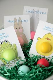 easter bunny gifts eos lip balm easter gifts eos free printable and easter