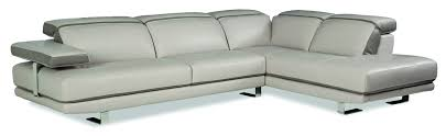 Light Gray Leather Sofa by Furniture Fascinating Short Sectional Sofa Give Comfortable And