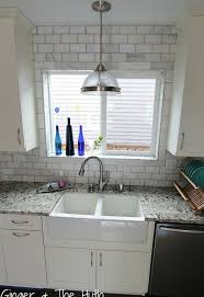 kitchen window backsplash how to lay backsplash around kitchen pass through