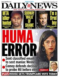 comey clinton aide abedin sent many classified emails to weiner