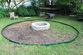 Firepit Base Beautiful Pit Gravel Base 6 Pits You Can Make In A Day