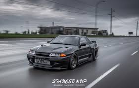 stanced mitsubishi eclipse aaron u0027s r32 gts t stanced up