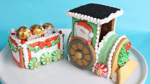 Christmas Cookie Decorating Kit Decorating 3d Gingerbread Train Cookie Kit With Royal Icing Step