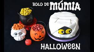 Halloween Mummy Cakes Tutorial Mummy Cake For Halloween In Fondant Youtube