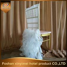 Chair Cover For Wedding Wholesale Ruffle Chair Covers Wedding Online Buy Best Ruffle