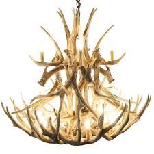 Deer Antler Chandelier Canada Shop Mule Deer Antler Chandeliers Cast Horn Designs