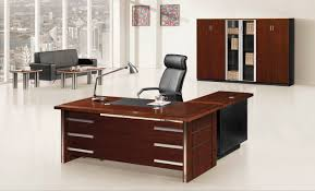 New Office Desk Transform Contemporary Office Table In Leather Wood S Cabin