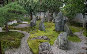 Japan Rock Garden by Mirei Shigemori At Home With Stone The Japan Times
