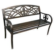metal garden bench singapore metal outdoor bench legs metal