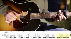 guitar tutorial jolene dolly parton youtube