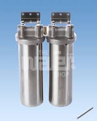water filter under sink doulton stainless steel twin undersink the water shop water filter