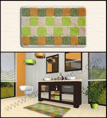 tappeti verdi tappeti verdi arancioni e tanti altri colori per il bagno