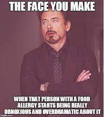 Allergy Meme - face you make robert downey jr meme imgflip