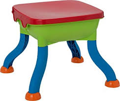 sand and water table with lid chad valley sand and water table and accessories amazon co uk