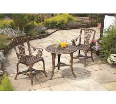 Argos Bistro Table Buy Garden Bistro Set Bronze At Argos Co Uk Your