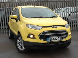 used ford ecosport yellow for sale motors co uk
