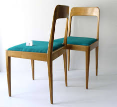 Modernist Chair by Carl Auböck Carl Aubock Modernist Wooden Chairs A7