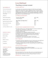 Resume For Teaching Job With No Experience by Sample First Job Resume 8 Examples In Word Pdf