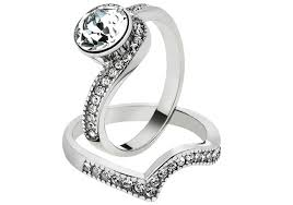 black wedding ring set womens black wedding ring sets