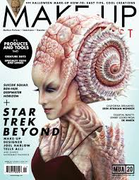 magazines for makeup artists oct nov 2016 issue 122 make up artist magazine