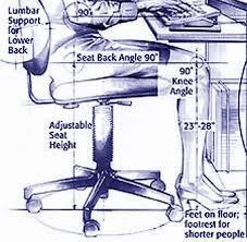 ergonomically correct desk chair how to set up an ergonomically correct work space btod com