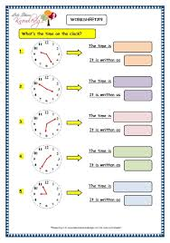 grade 3 maths worksheets 8 3 telling the time in 5 minutes
