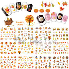 thanksgiving decals thanksgiving nail water transfer nail stickers decal tips