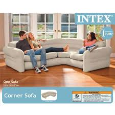amazon com intex inflatable corner sofa 101